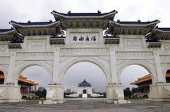 Cancello tradizionale, Taipeh Fotografie Stock