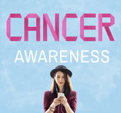 Cancer Awareness Female Issue Illness Concept Royalty Free Stock Image