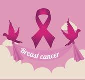Cancer campaign design Stock Photos