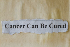 Cancer Royalty Free Stock Photo