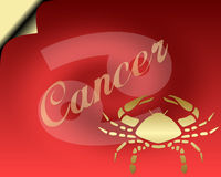 Cancer Card Royalty Free Stock Photos