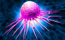 Cancer cell Royalty Free Stock Photos