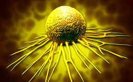 Cancer cell Royalty Free Stock Photography