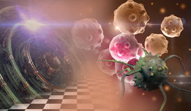 Cancer cell Stock Photos