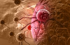 Cancer cell Stock Image
