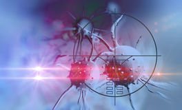 Cancer cell Royalty Free Stock Photo