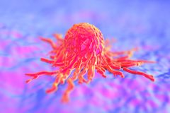 Cancer cell/ tumor Stock Images