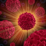 Cancer cells Royalty Free Stock Photos