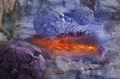 Cancer cells in human body Stock Images