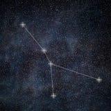 Cancer Constellation. Zodiac Sign Cancer constellation vector illustration