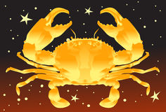 Cancer, The Crab Stock Photography