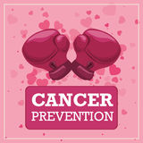 Cancer design. Royalty Free Stock Photography