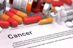 Cancer Diagnosis. Medical Concept royalty free illustration