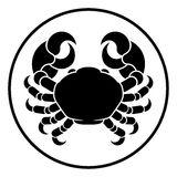 Cancer Horoscope Zodiac Sign Crab Stock Images