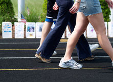 Free Cancer - Relay For Life Walk Stock Photo - 2580590