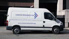 Cancer Research UK. The logo of cancer research UK on a Royalty Free Stock Images