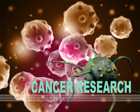 CANCER RESEARCH Royalty Free Stock Photography