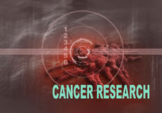 CANCER RESEARCH Royalty Free Stock Photo