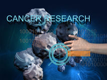 CANCER RESEARCH Stock Images