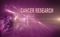CANCER RESEARCH Royalty Free Stock Images