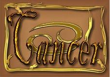 Cancer, signe de zodiaque Photos stock