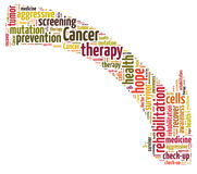Cancer therapy Royalty Free Stock Images
