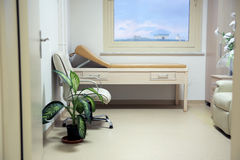 Cancer treatment chemotherapy room Stock Images