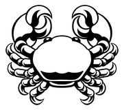 Cancer Zodiac Horoscope Astrology Sign Crab Stock Photography