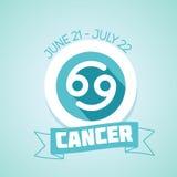 Cancer zodiac sign Stock Photos