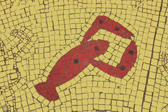 Cancer zodiac sign. In a mosaic style royalty free stock images