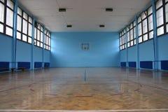 Cancha de básquet Foto de archivo libre de regalías