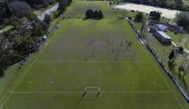 Cancha DE rugby royalty-vrije stock afbeeldingen