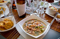 Canchalagua ceviche, typical dish from the Stock Photos