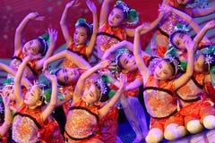 canción alegre de la exposición de enseñanza de clasificación Jiangxi del logro de los niños de la prueba de la academia de la da fotografía de archivo