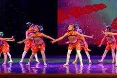canción alegre de la exposición de enseñanza de clasificación Jiangxi del logro de los niños de la prueba de la academia de la da imagen de archivo