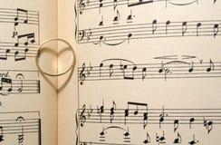 Canción de amor fotografía de archivo libre de regalías