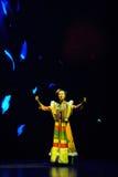 canción-grande popular tibetano del show†de los escenarios de la escala el  del legend†del camino Imagenes de archivo