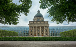 Cancillería bávara del estado, Alemania Imagen de archivo libre de regalías