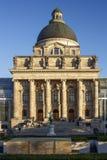 Cancillería bávara Bayerische Staatskanzlei del estado en Munich, Fotos de archivo