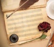 Canción de amor Imagen de archivo libre de regalías