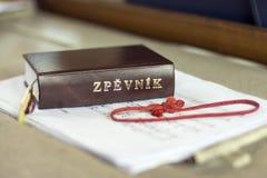 Cancionero checo Imágenes de archivo libres de regalías