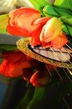 Canciones y tulipanes, símbolos fotos de archivo libres de regalías