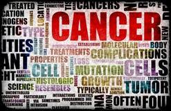 Cancro ilustração royalty free