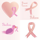 Cancro da mama Fotografia de Stock Royalty Free