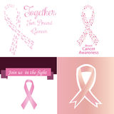 Cancro da mama Fotos de Stock