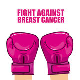 Cancro da mama Imagens de Stock Royalty Free