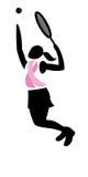 Cancro della mammella - tennis Fotografie Stock Libere da Diritti