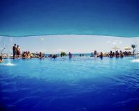 cancun λίμνη του Μεξικού στοκ εικόνες με δικαίωμα ελεύθερης χρήσης