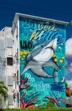 Cancun, Мексика; 09 14 2018 искусство урбанское Стоковое Изображение RF