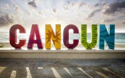 cancun Мексика Стоковая Фотография RF